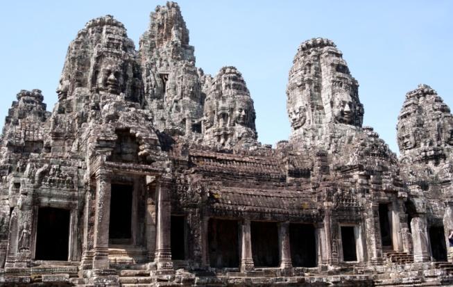 Bayon temple_Cambodia