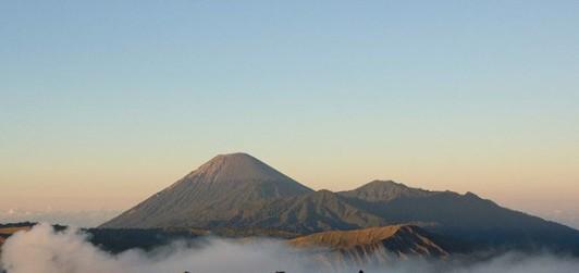 Mt Bromo after sunrise