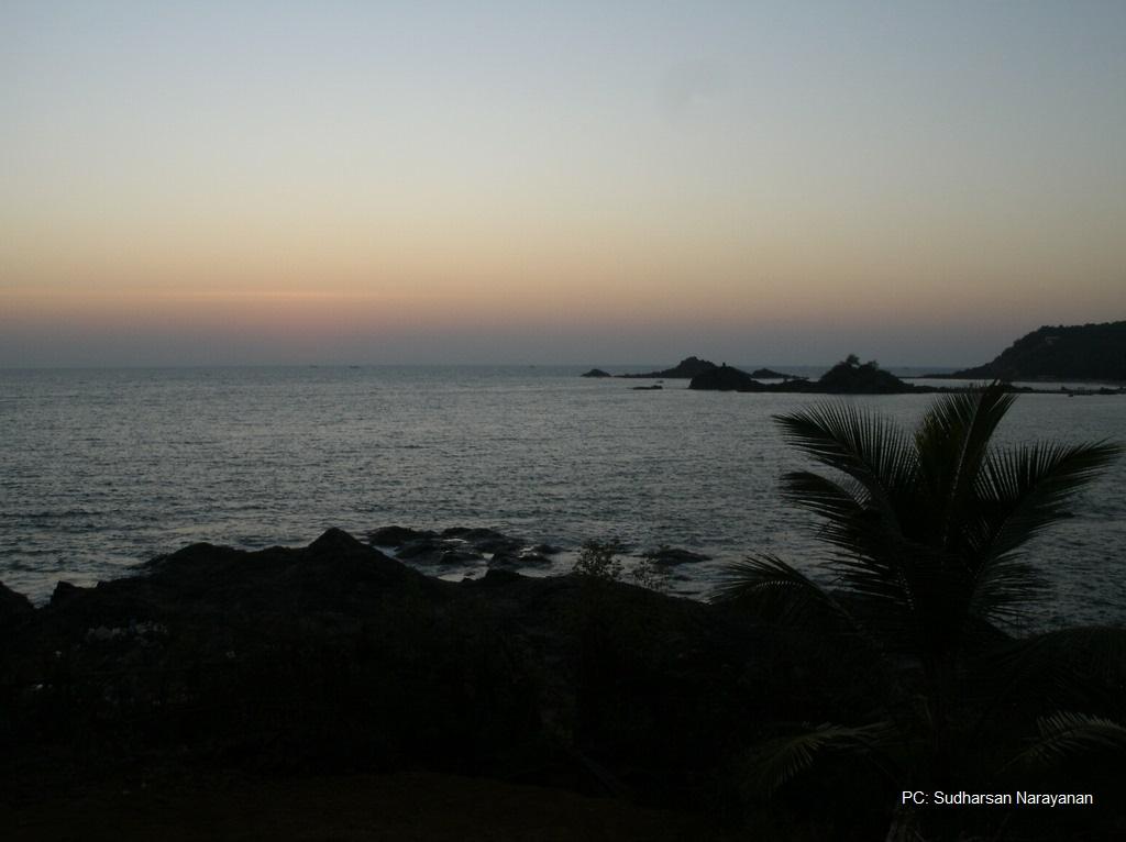 Kudle-beach-sunset