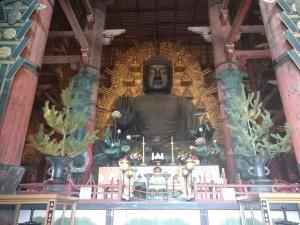 Todaiji bronze statue of Buddha