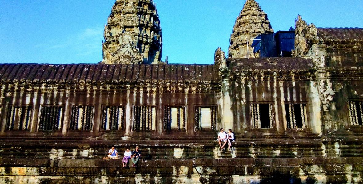 Angkor Wat-Terrace-Siem reap
